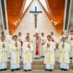 Three Vietnamese Jesuits ordained to the Diaconate in the Philippines